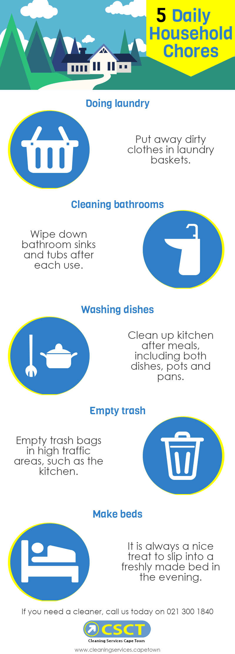 cleaning tips at home
